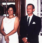 Mrs Linda Richards and Tony Leo